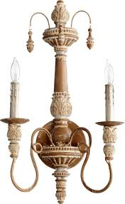 Quorum Wall Sconce Quorum Salento 2 Light Wall Sconce Umber 5506 2 94 Lsusa