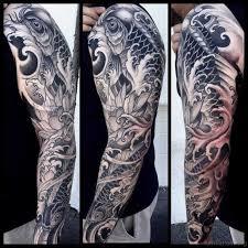 65 fancy fish tattoos on arm
