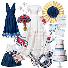 Nautical Theme Dress - 17 ideas for a nautical themed wedding wedding style brides