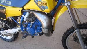 vintage motocross bikes for sale uk 1986 suzuki rm 80 for sale youtube
