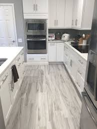 Flooring For Kitchen Grey Wood Floor Kitchen Ideas Photos Houzz