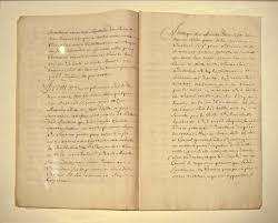 Ottoman Literature File Draft Of The 1536 Treaty Negotiated Between Jean De La Forest