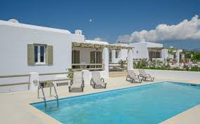 naxos villas in plaka beach sea and olives villa cyclades greece