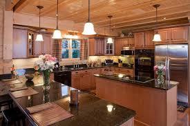 luxury log home interiors luxury log homes luxury log home kitchen from custom timber log