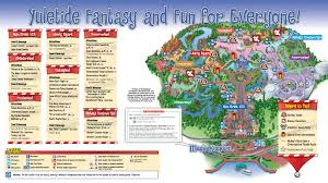 mickey s merry 2009 guide map photo 2 of 2