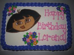 dora cake happy 2nd birthday lorena cake dulce