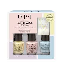 softshades nail lacquer trio pack opi