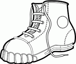 boot coloring page trendy boot coloring page with boot coloring