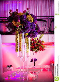 large flower centerpieces royalty free stock photography image