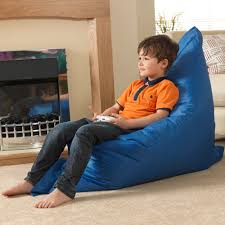 kids baz bag blue beanbag chair indoor u0026 outdoor kids bean bags