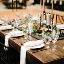 table linen rental rustic farmhouse wedding rental utah farm wood tables chairs