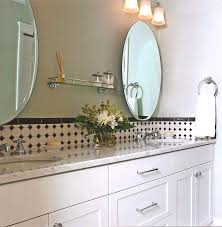 Oval Bathroom Mirrors Brushed Nickel Extraordinary Nickel Oval Mirror Furniture Oval Bathroom Mirrors