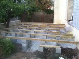 photo terrasse composite terrasse composite sur sol meuble evtod