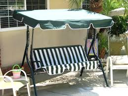 Replacement Fabric For Patio Swing Patio Ideas Outdoor Swinging Chair With Stand Swinging Outdoor