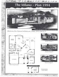 pebblecreek real estate u2013 floor plan milano 1994