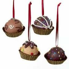 chocolate ornaments set of 4 chocolate bon bon