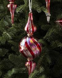 set of 12 red silver and sparkle ornament balsam hill