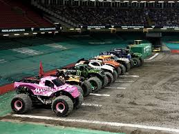 monster truck show january 2015 jaw dropping stunts at monster jam principality stadium cardiff
