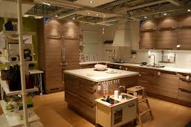 Ikea Kitchen Countertops by Modern Wooden Style Kitchen With Walnut Wooden Countertops And