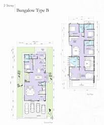 two story bungalow house plans 2 storey house plan free new house plan 2 story bungalow