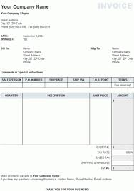 Invoice Template Excel Free Rent Invoice Template Uk Rabitah