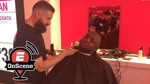 how to do miguels hair cut miguel sano gets haircut before home run derby debut onscene