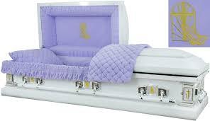 cost of caskets best price caskets 8453 a praying casket 18ga br lavender