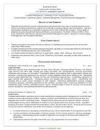 exle resume summary of qualifications valuable quality manager resume exles qa resume summary