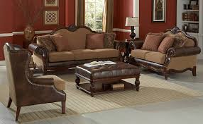 Leather Ottomans Coffee Tables by Living Room Attractive Brown Leather Ottoman Coffee Table With