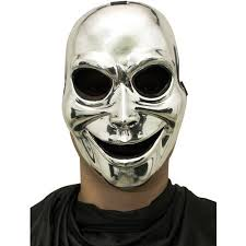sinister ghost silver mask accessory walmart