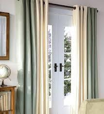 Window Treatment Ideas For Patio Doors Backyard Door Curtains Patio Door Curtain Rod Size Without Center
