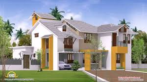 modern house plans with photos in kerala youtube