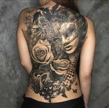 Back Pieces Tattoos 100 Tastefully Provocative Back Tattoos For