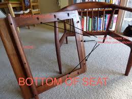 Rubber Upholstery Webbing Mid Century Teak Chair Seat Repair Webbing Advice Needed