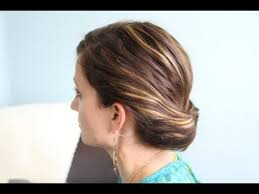 tuck in hairstyles ponytail gibson tuck diy hairstyles for work cute girls