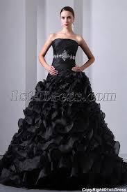 pretty wedding dresses new pretty ruffled layers black wedding dress 1st dress