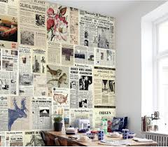 wholesale newspaper print fabric buy cheap newspaper print european retro newspaper backdrop mural 3d wallpaper 3d wall papers for tv backdrop