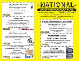 Buffalo Overhead Door by End Of Summer 2017 Garage Door Deals National Overhead Door