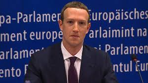 parlement europ n si e devant le parlement européen zuckerberg se fait