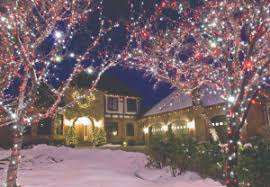 Christmas Decorations For Outdoor Lamps cincinnati holiday lighting installers five star holiday decor