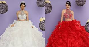 quincia era dresses mesmerizing two quinceanera dresses