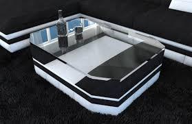 Wohnzimmertisch Luxus Wohnzimmertisch Design Turino Stoff Leder Beistelltisch