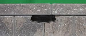 solar retaining wall lights bigmax led retaining wall light brickstop