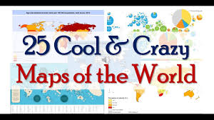 Cool Maps 25 Cool U0026 Crazy Maps Of The World Youtube