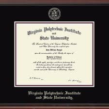 michigan state diploma frame virginia tech diploma frame excelsior graduation gift