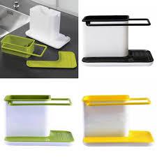 Kitchen Sink Holder by Kitchen Sink Utensil Holder Drainer Plastic Rack Organizer Caddy