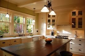 arts and crafts kitchen craftsman kitchen portland by