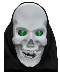 skeleton ghost mask skull mask with eyes hologram halloween skull mask horror shop com