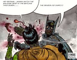 Meme Batman Robin - zombie batman slaps robin meme zombie art by rob sacchetto