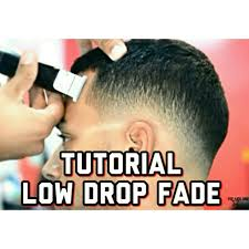 how to do drop fade low fade haircut barber pinterest